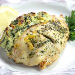 Keto Spanakopita Stuffed Chicken- low carb