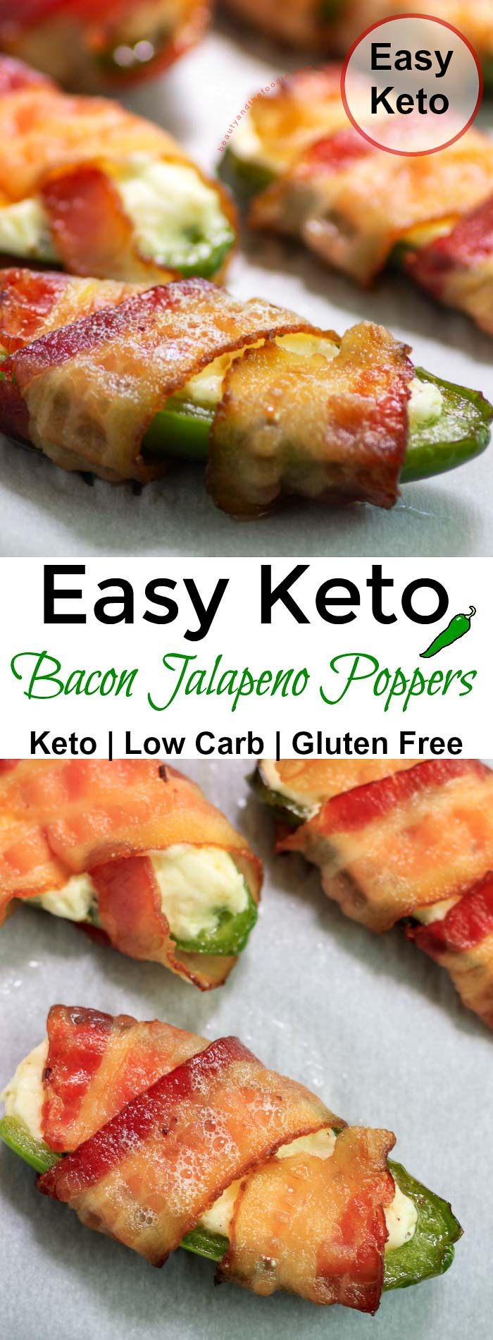 Easy Keto Bacon Jalapeno Poppers