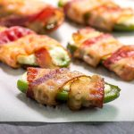 Keto Bacon Jalapeno Poppers- low carb & gluten free.