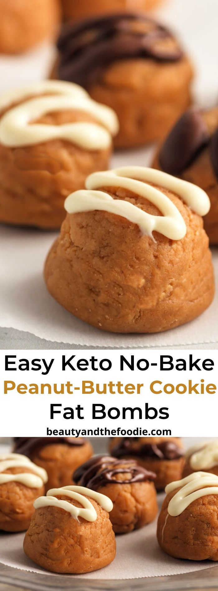 Keto Peanut Butter Cookie Fat Bombs- Easy & Fast