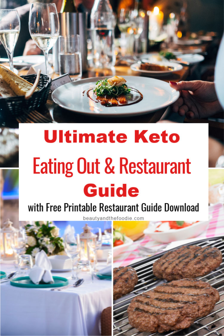 Ultimate Keto Eating Out & Restaurant Guide with Free Printable Guide