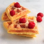 Easy Keto Golden Chaffles