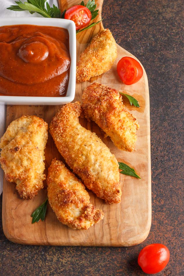 Air fried or oven bake chicken tenders