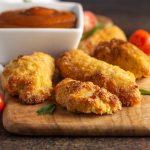 Air fryer or oven fried keto chicken tenders