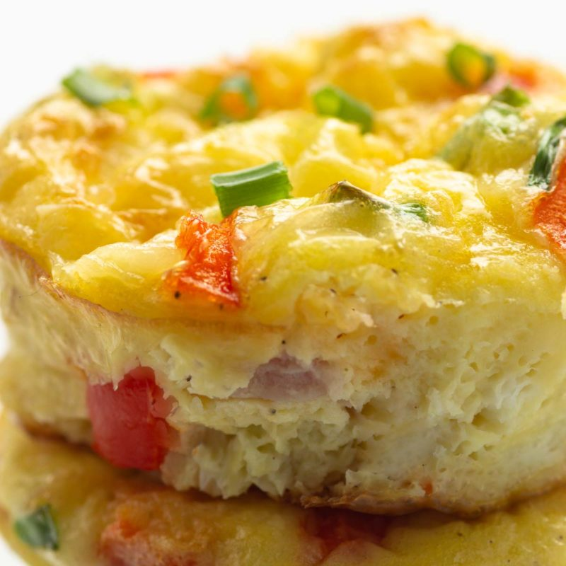 Easy Keto Denver Omelet Cups