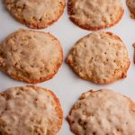 Low Carb Oatmeal Cookies with Icing