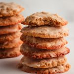 Low Carb Iced Oatmeal Cookies