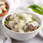 Keto Instant Pot Philly CheeseSteak Bowls
