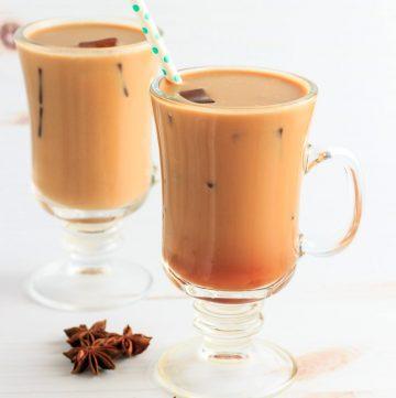 Thai spiced low carb iced tea