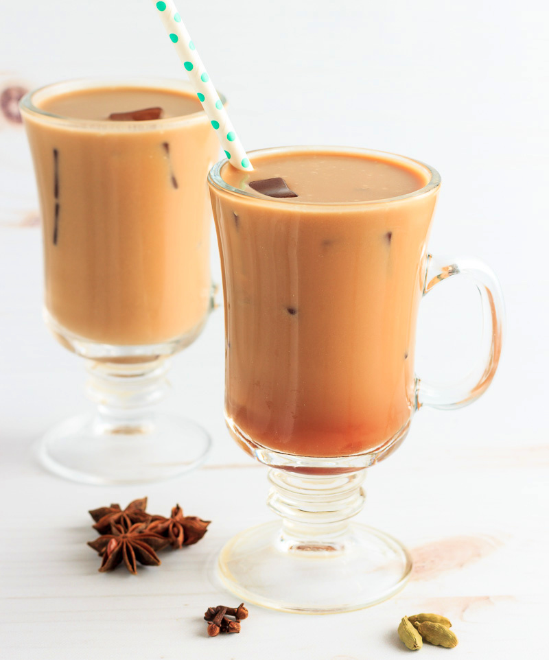 Thai spiced low carb iced tea