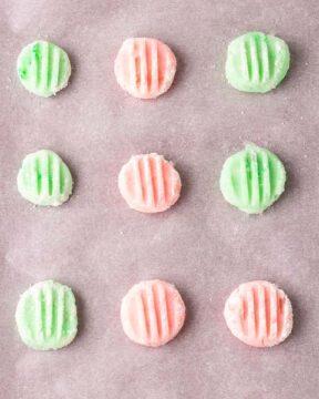 Return the mints to the fridge.