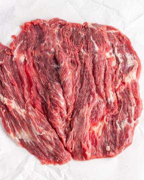 Pounding steak flat