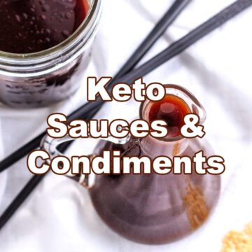 Keto Sauces and Condiments