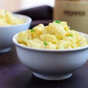 Low carb faux-potato salad alternative..