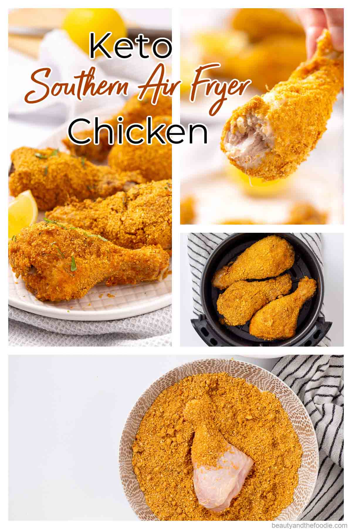For photos of making keto air fryer chicken drumsticks.